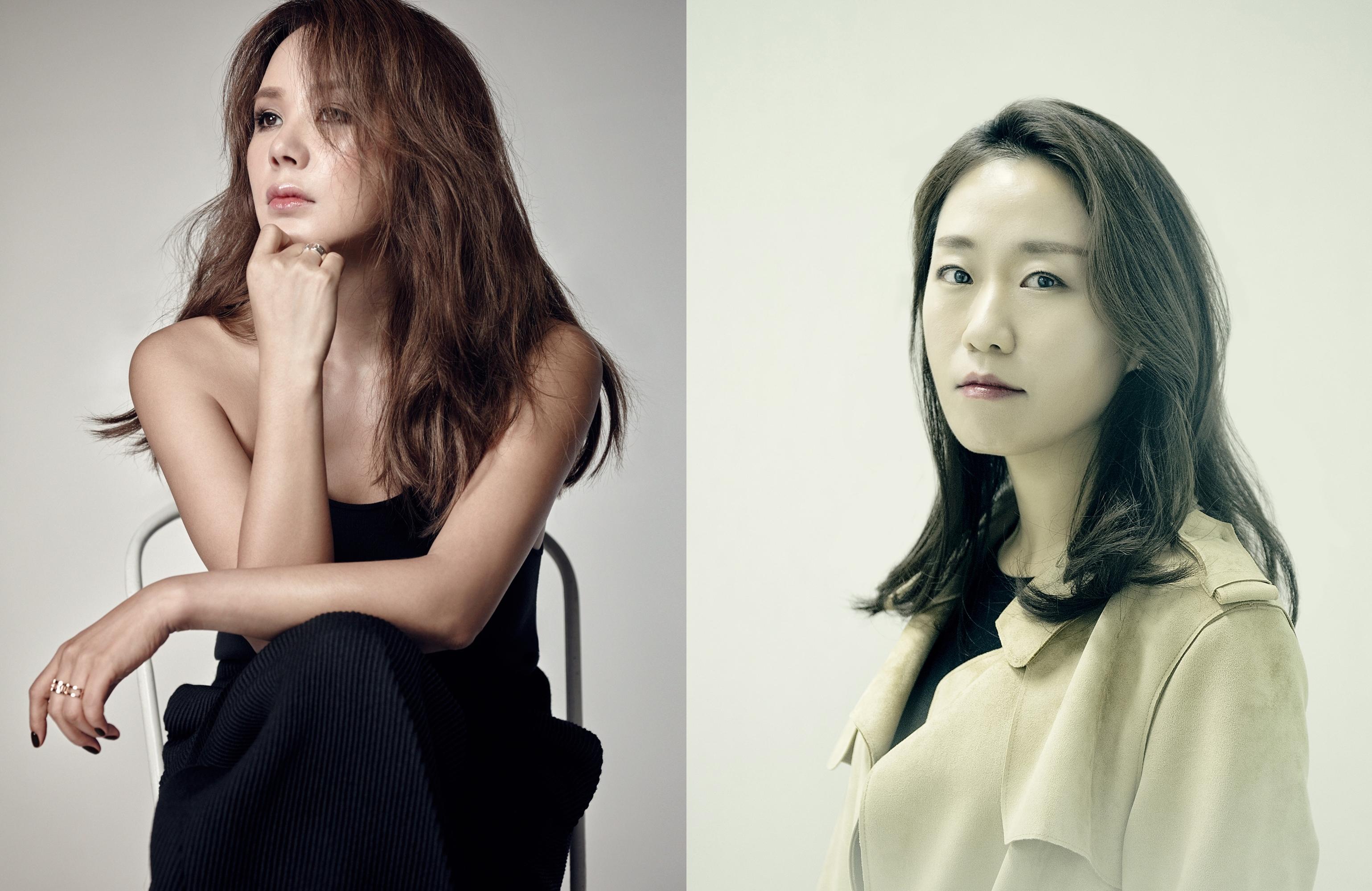 ▲(왼쪽) 배우 엄정화 (출처 바자코리아) (오른쪽) 이지원 감독